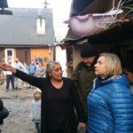 Wizytacja w osiedlu romskim w Maszkowicach