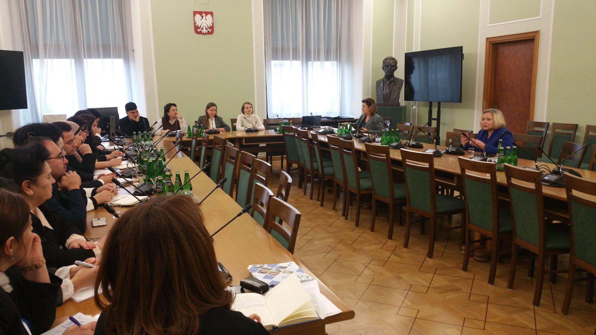 Spotkanie PZPK z delegacją z Uzbekistanu