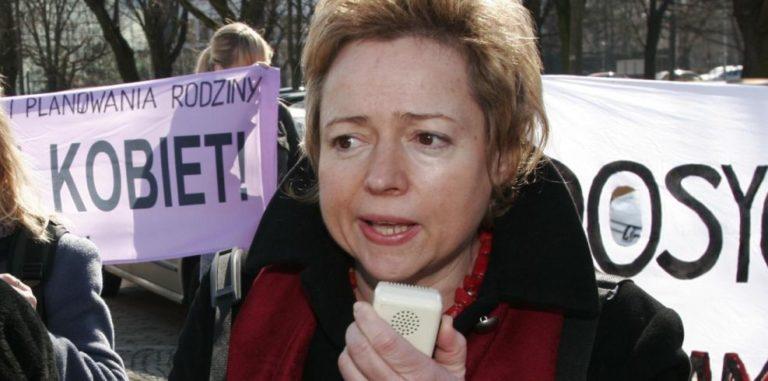 Wanda Nowicka - wieloletnia przewodnicząca Federacji na Rzecz Kobiet i Planowania Rodziny