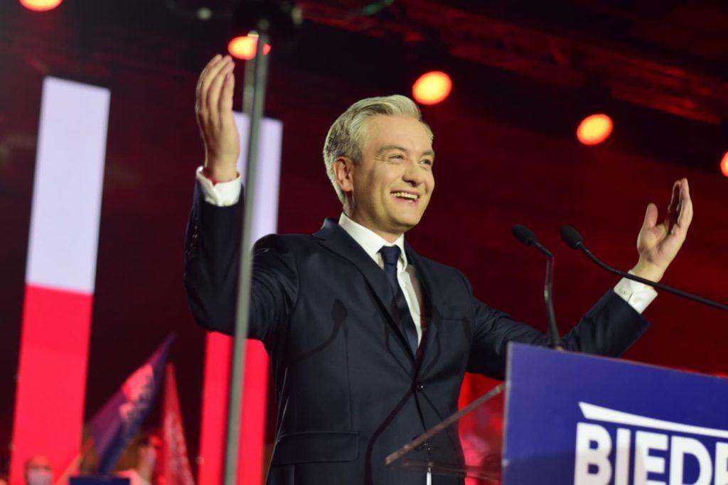 Śląskie Przedwiośnie na Konwencji Wyborczej Robera Biedronia