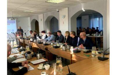 Spotkanie z samorządowcami z Toszka i Pyskowic