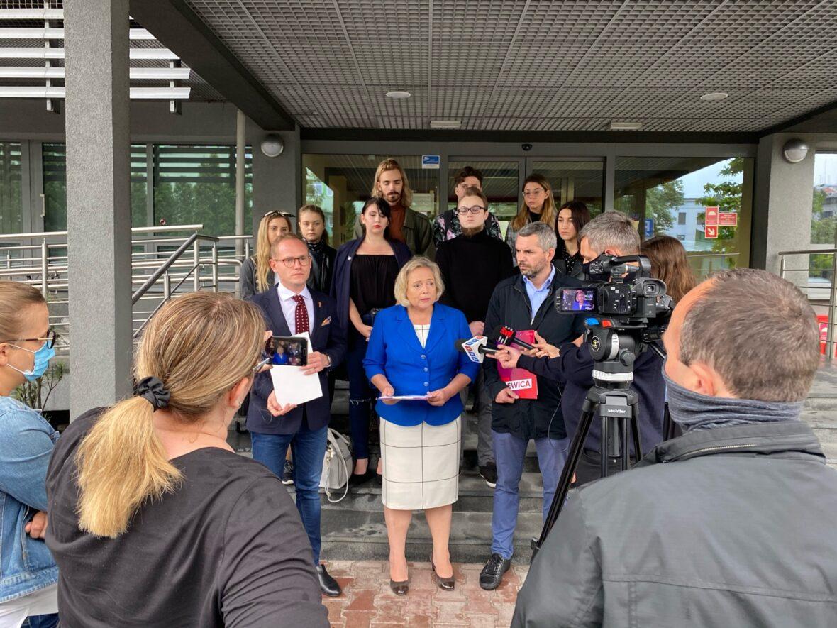 Konferencja prasowa i rozmowy w Śląskim Kuratorium Oświaty