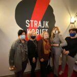 Ogólnopolski Strajk Kobiet - otwarcie biura w Warszawie